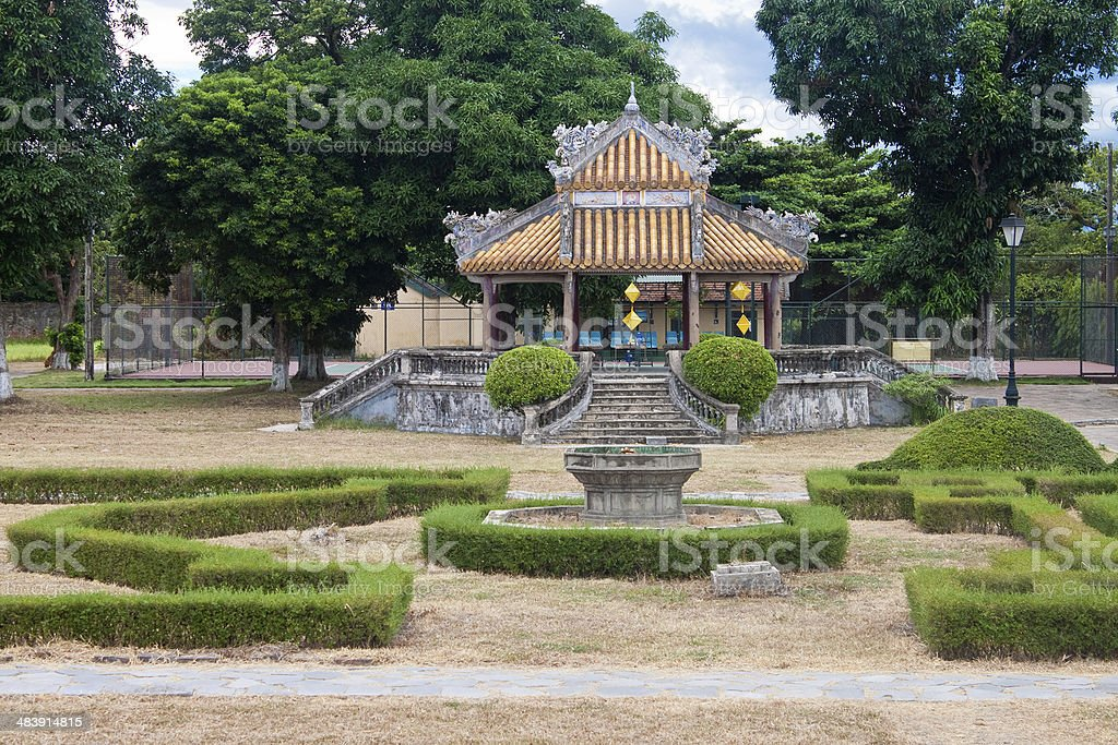 Complex of a Citadel in Hue royalty-free stock photo