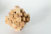 Complex Wooden Puzzle