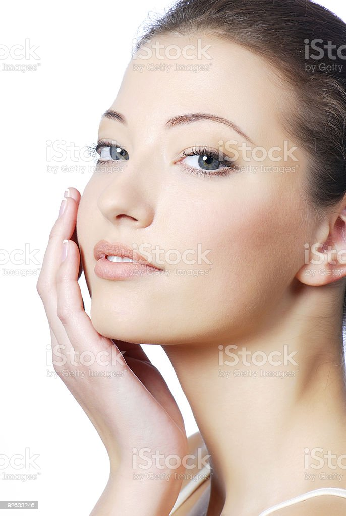 complexion of skin royalty-free stock photo