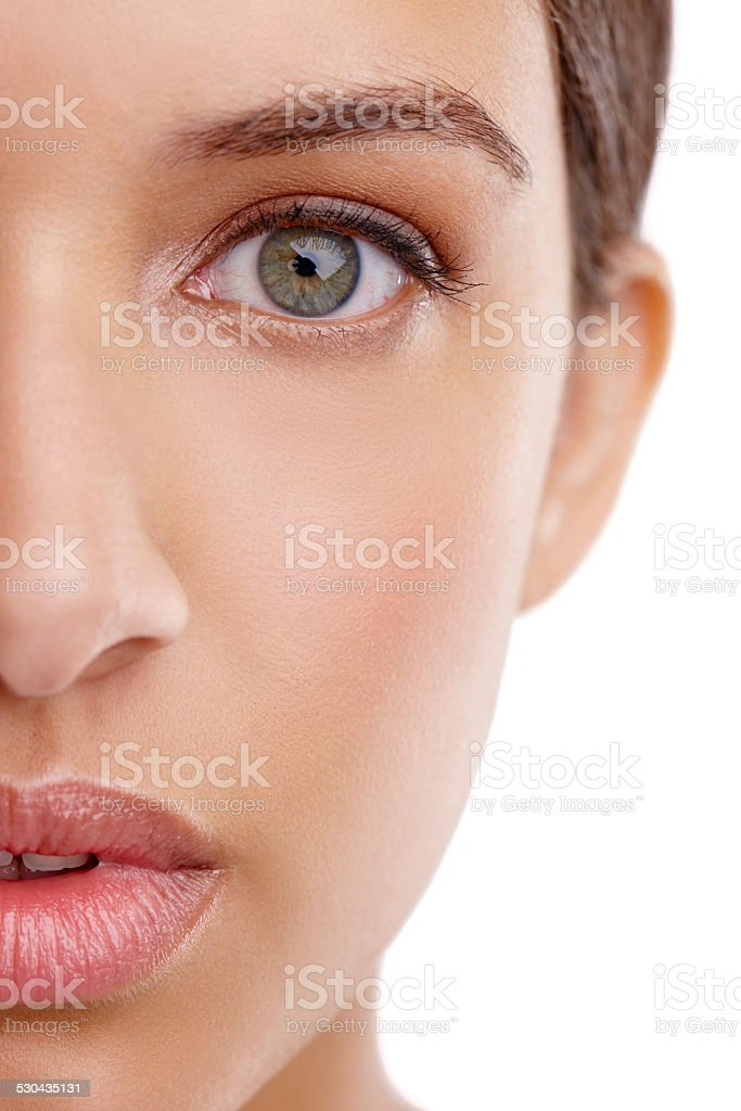 Complexion perfection stock photo