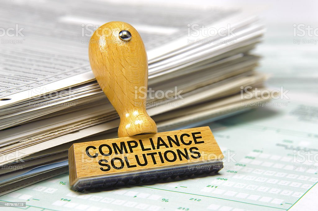 compliance solutions royalty-free stock photo