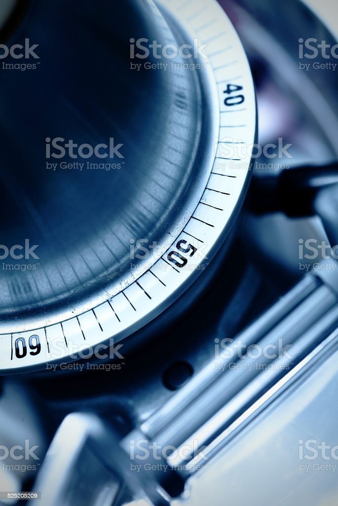 Component of the mechanism stock photo
