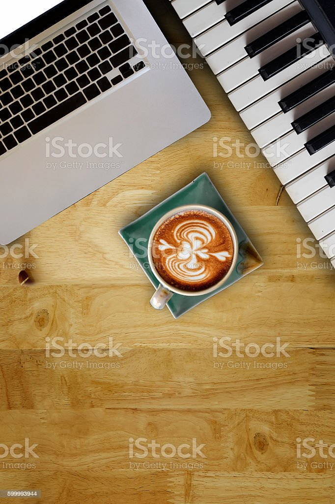 Composer Music writer Concept. stock photo