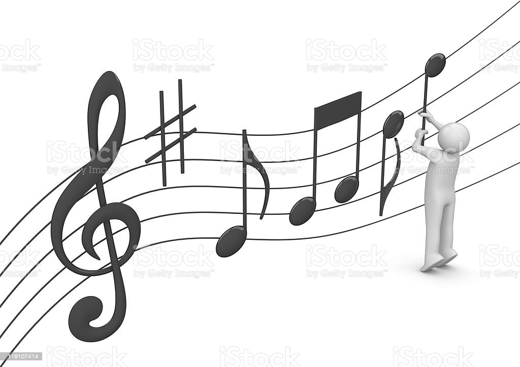Composer stock photo