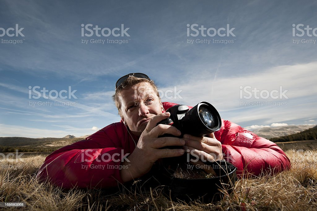 composing royalty-free stock photo