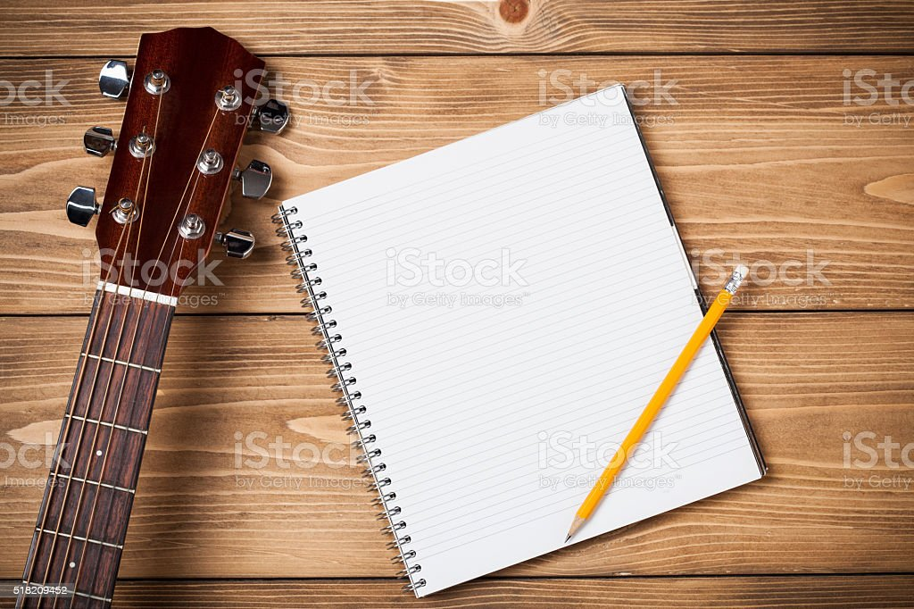 Composing stock photo