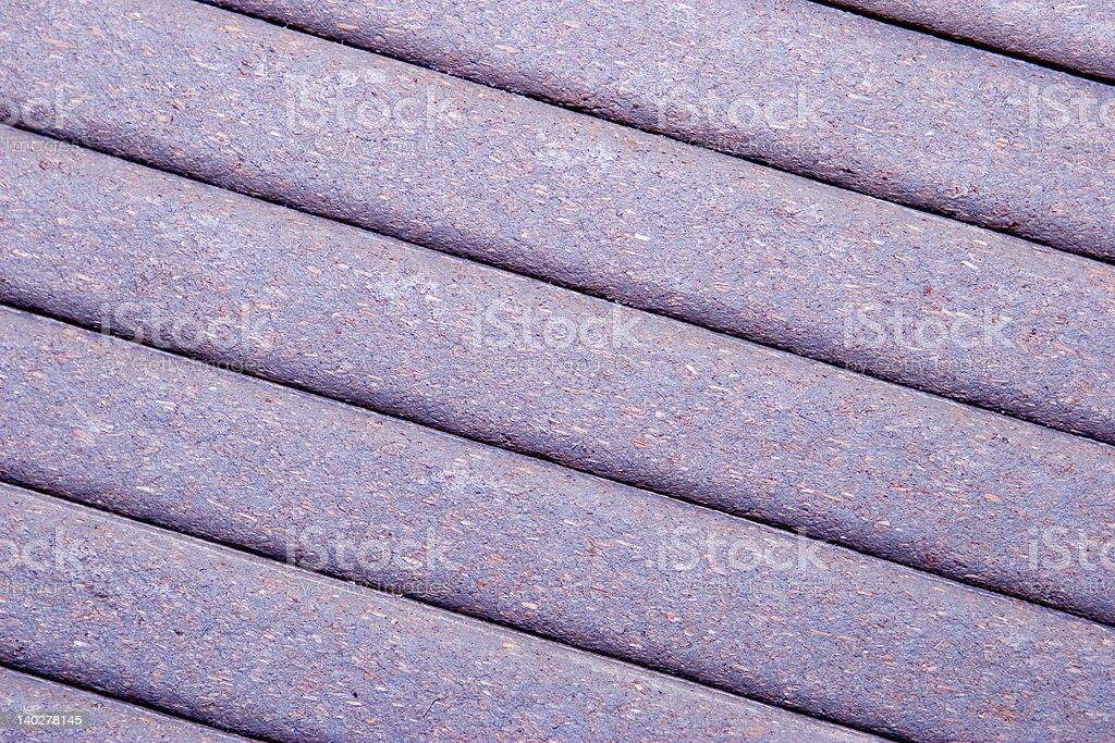 Composite Decking royalty-free stock photo
