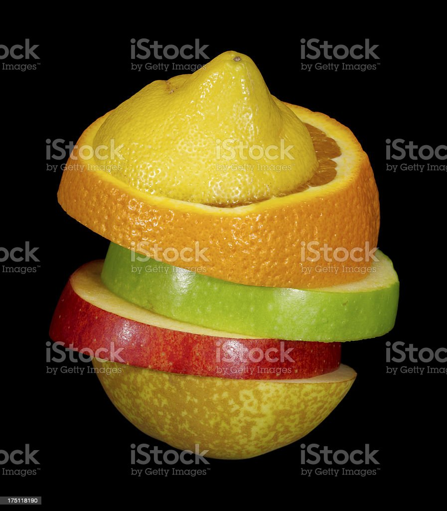 composite fruit royalty-free stock photo