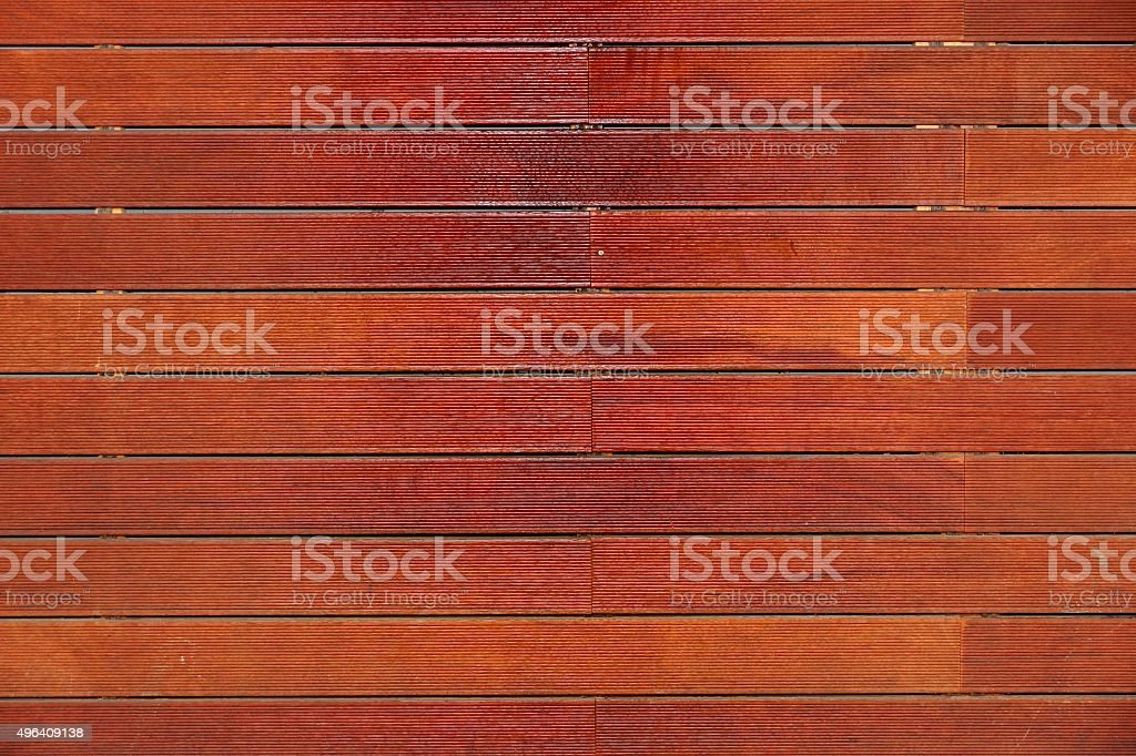 Composite lumber Decking Or Wood-Plastic Background stock photo