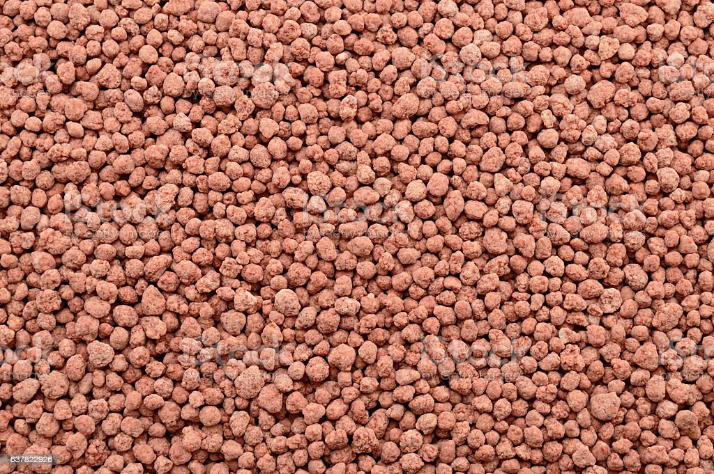 Composite mineral fertilizers. Background stock photo