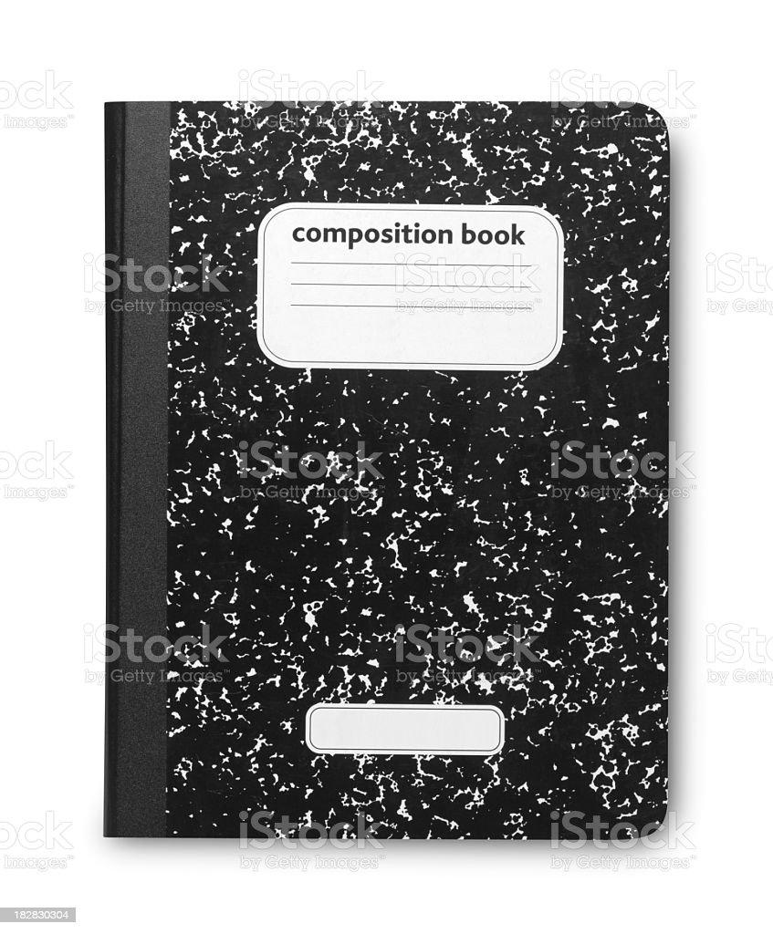 Composition Book stock photo