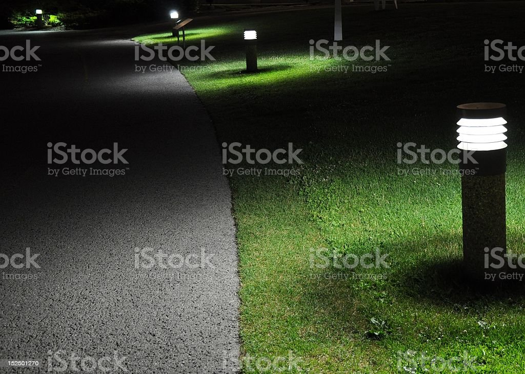 Composition in Grey and Green stock photo