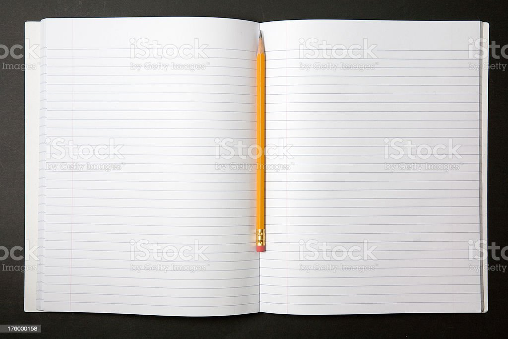 Composition Notebook royalty-free stock photo