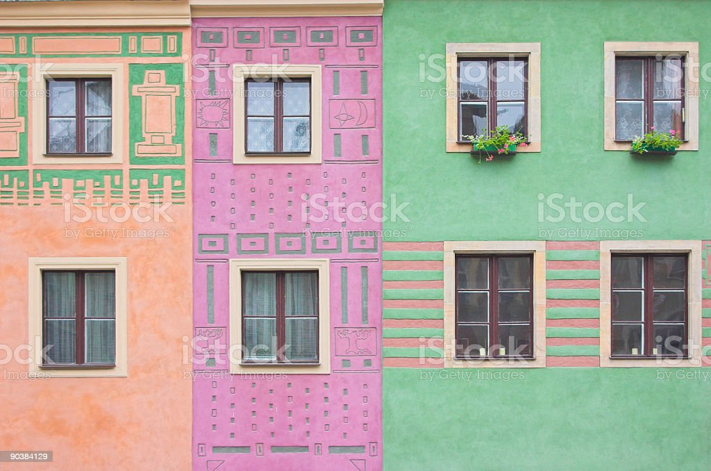 Composition of windows royalty-free stock photo