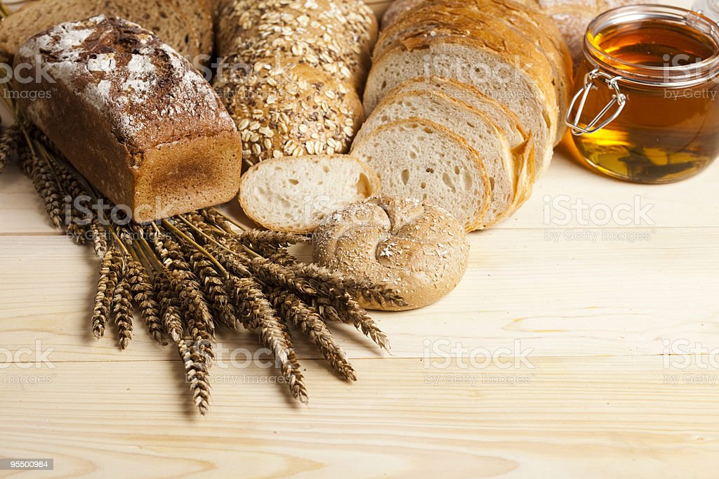 Compositions bread stock photo