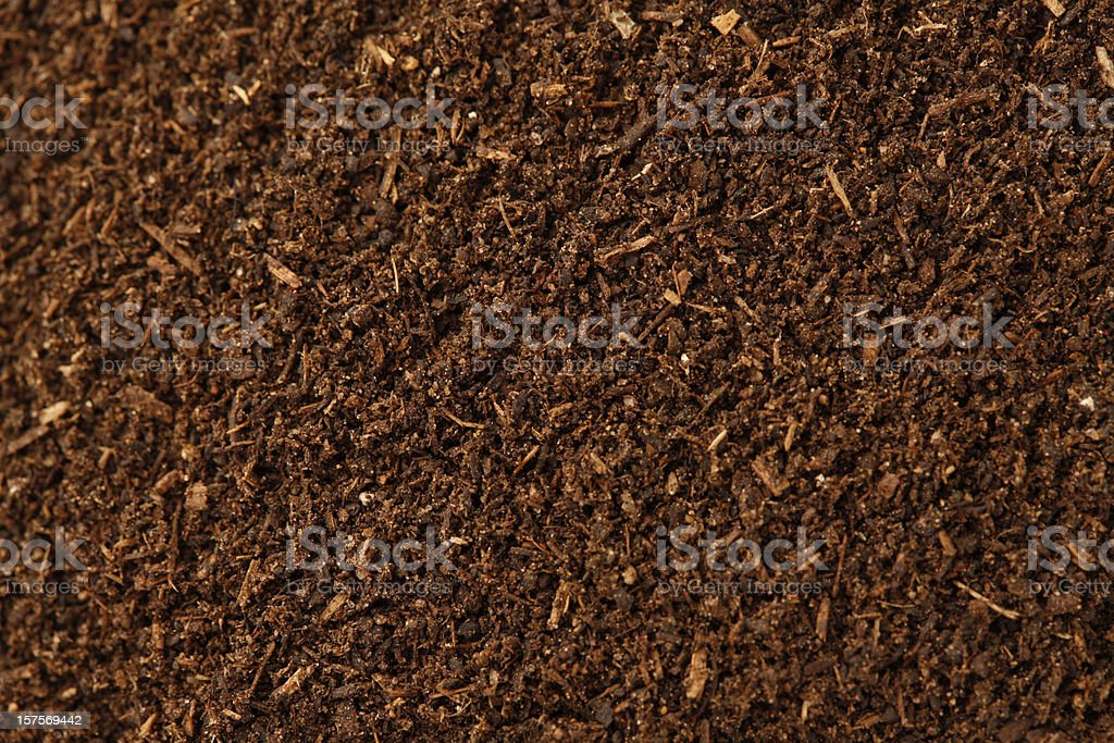 Compost Background royalty-free stock photo