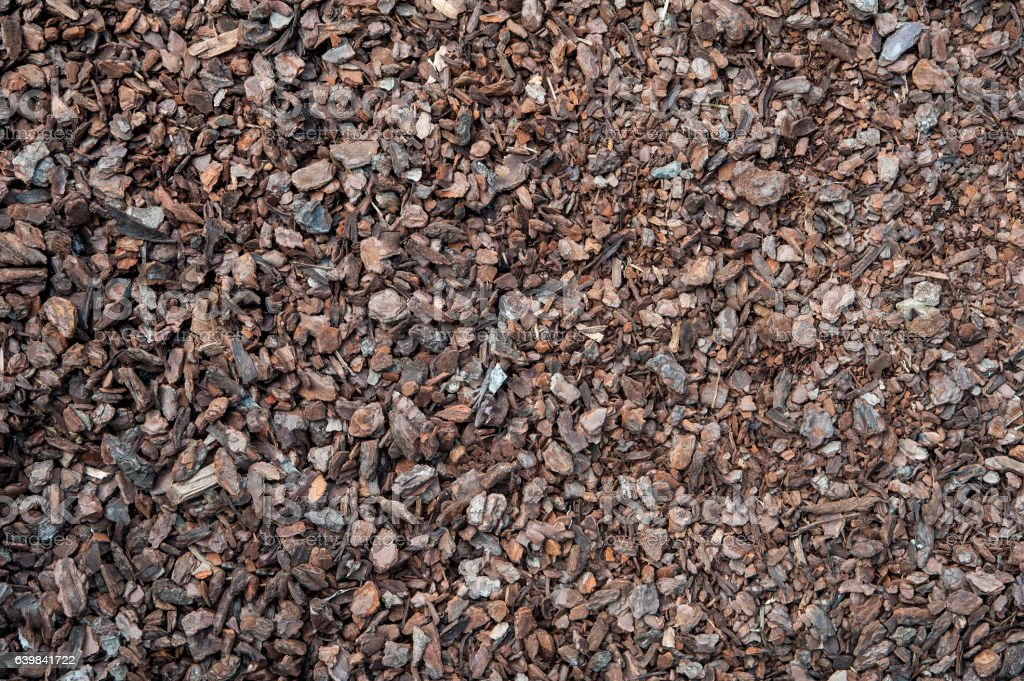 Compost mulch fragment stock photo