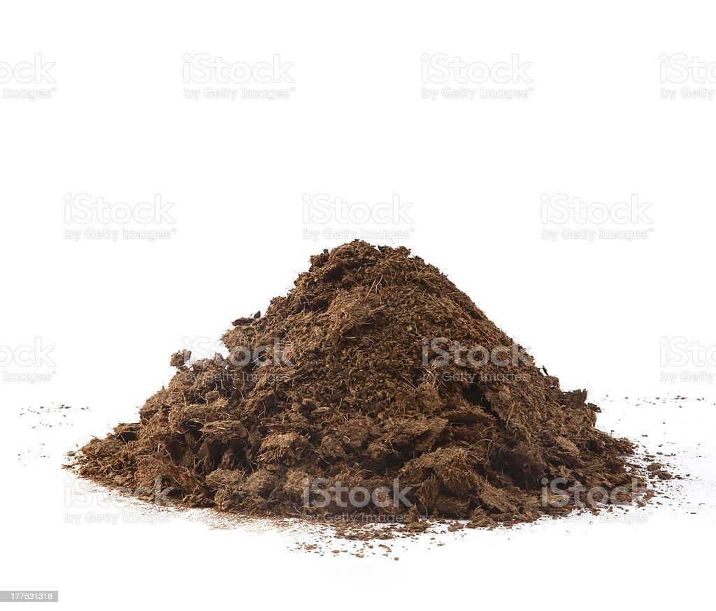 Compost Pile stock photo