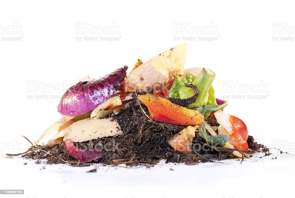 Compost the process stock photo