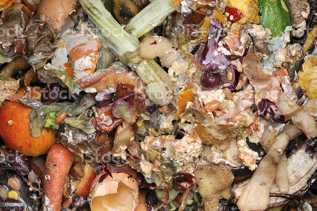 Composting food royalty-free stock photo
