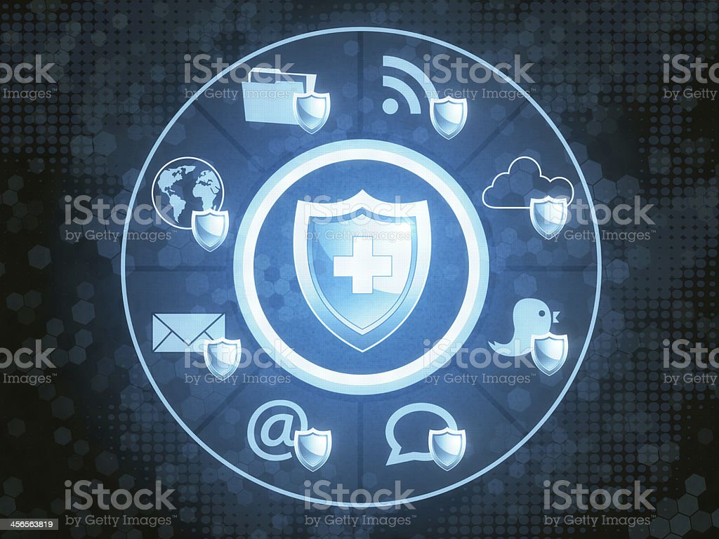 Comprehensive Protection stock photo
