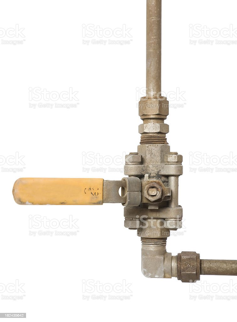 Compressed Air Off royalty-free stock photo
