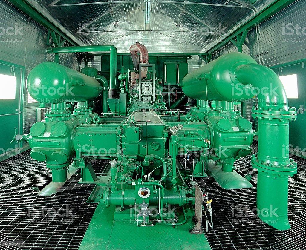 Compressor royalty-free stock photo