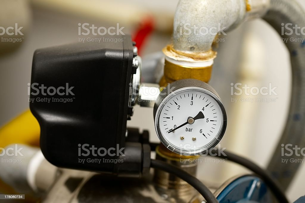 Compressor pump stock photo