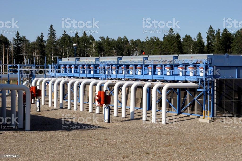Compressor Station (Series - one) stock photo