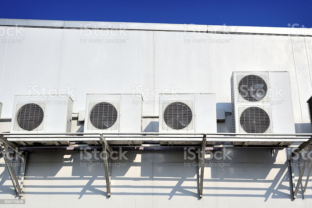 compressors stock photo