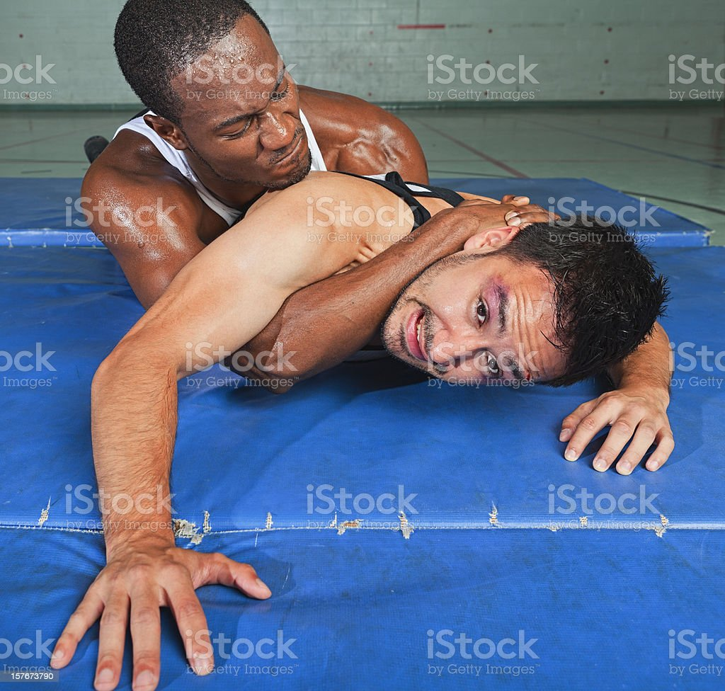 Compromised royalty-free stock photo