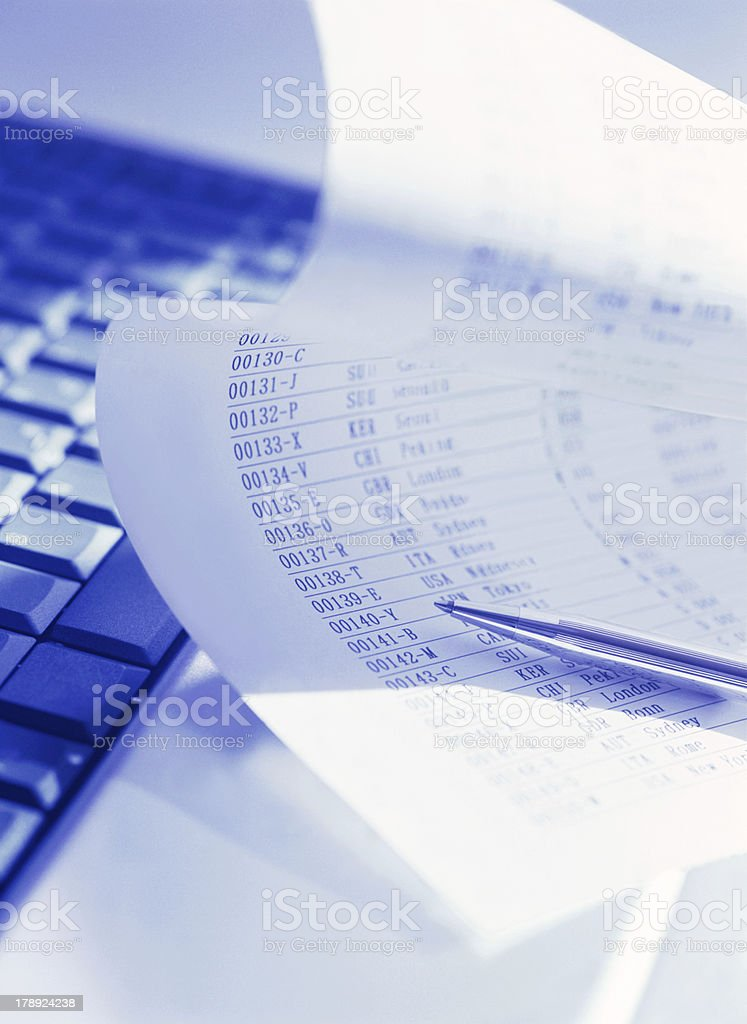 computer and data royalty-free stock photo