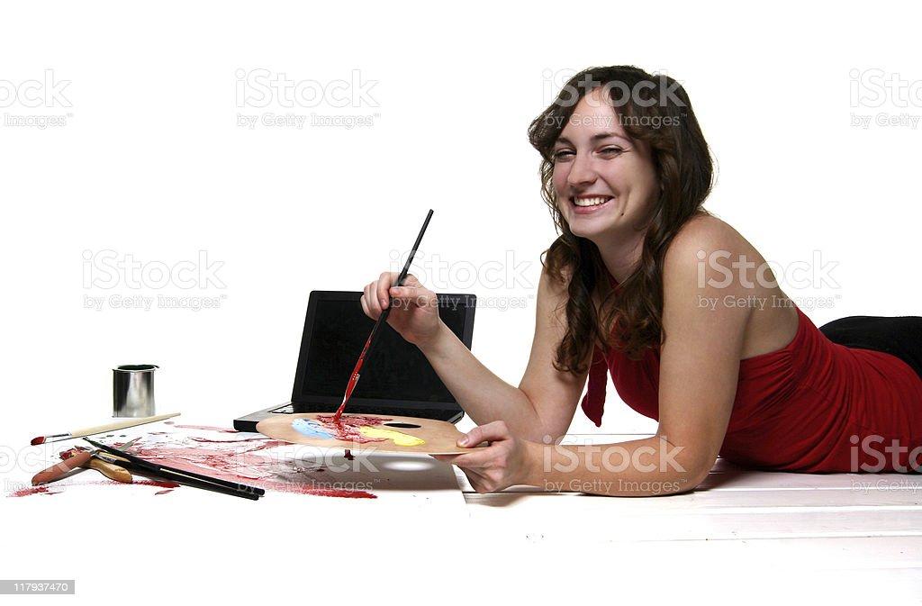 Computer Arts Portraits stock photo