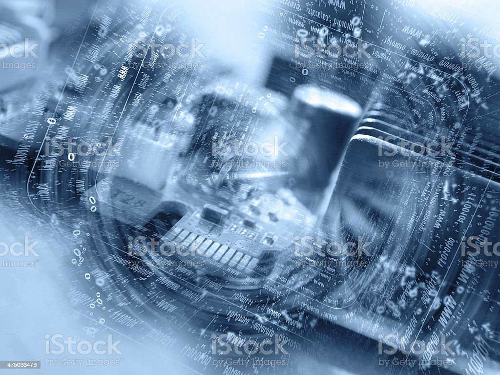 Computer background royalty-free stock photo