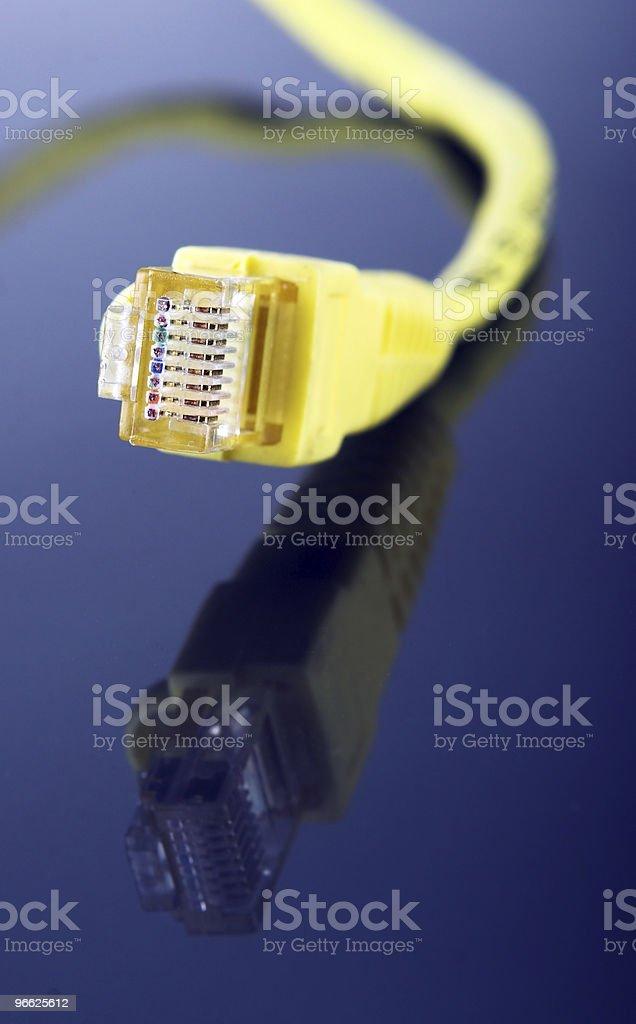 컴퓨터 케이블 royalty-free 스톡 사진