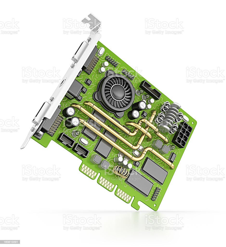 computer card royalty-free stock photo
