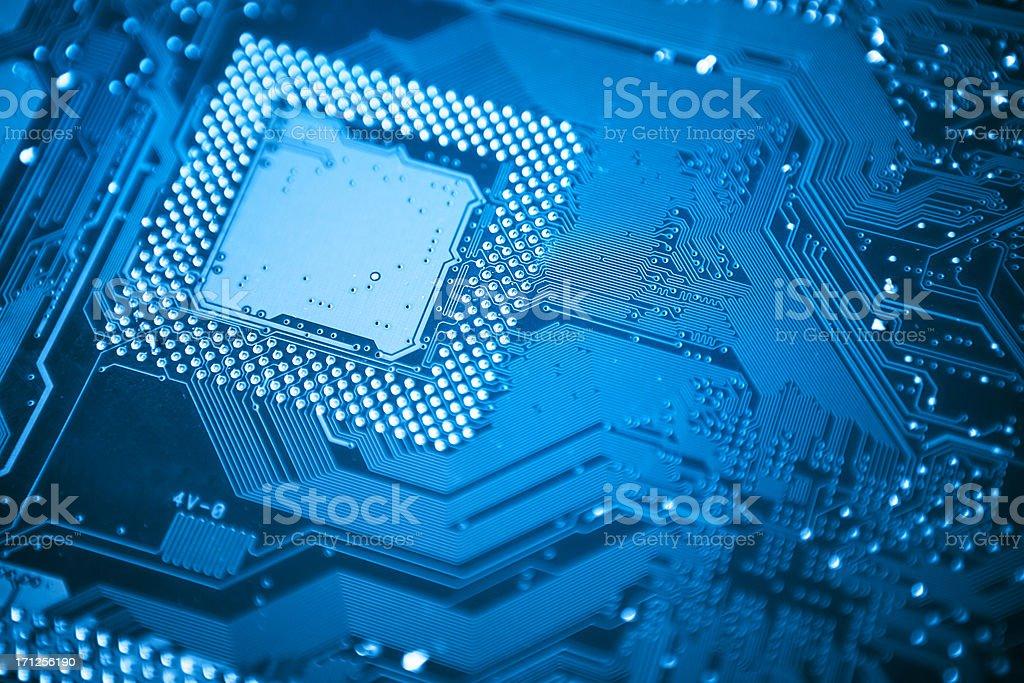 Computer Circuit Board royalty-free stock photo