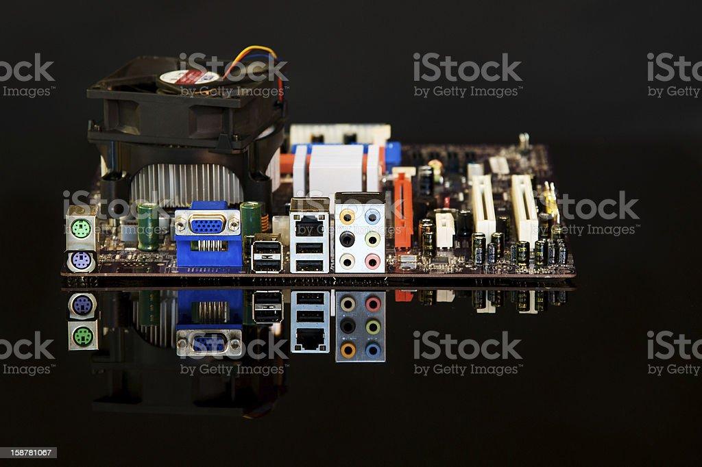 computer circuit royalty-free stock photo