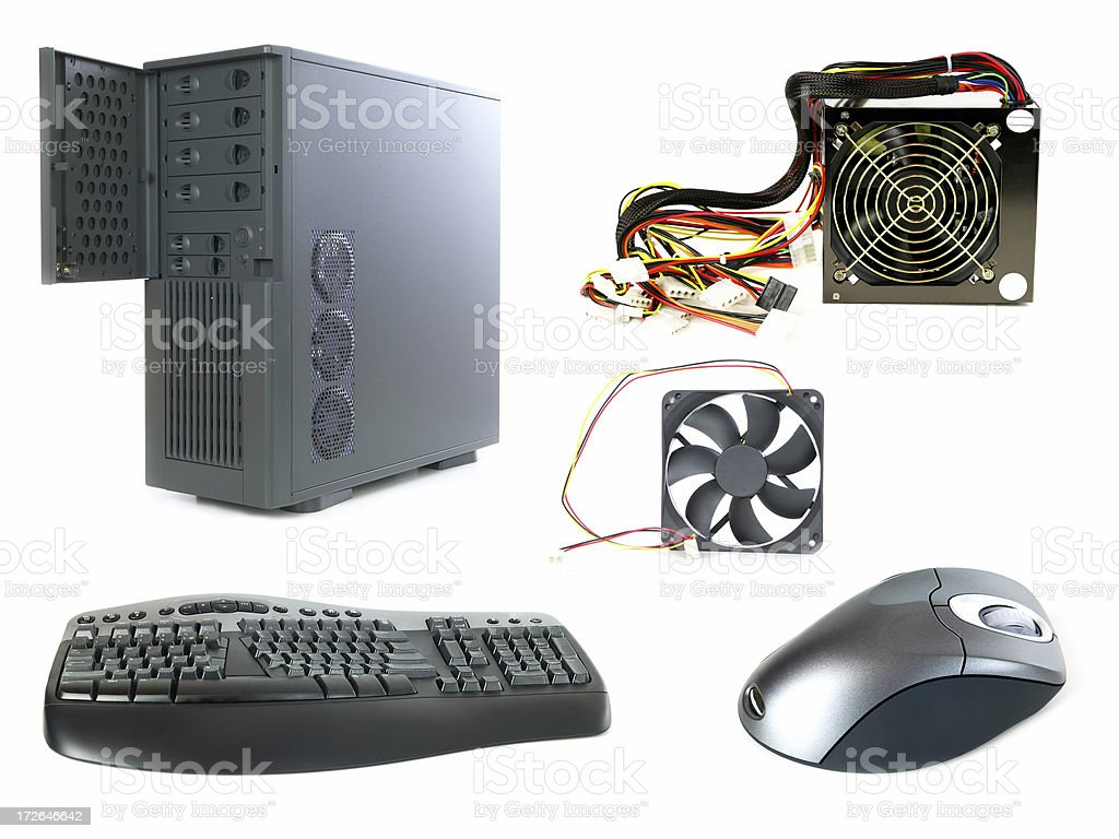 Computer  components royalty-free stock photo