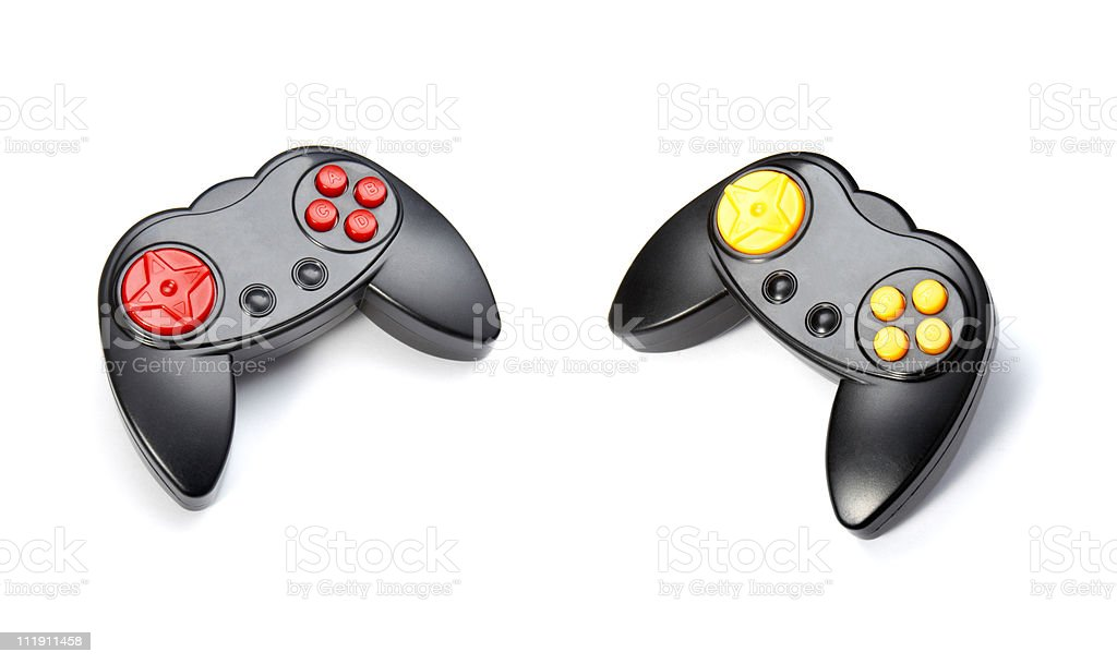 computer contoller gaming console royalty-free stock photo
