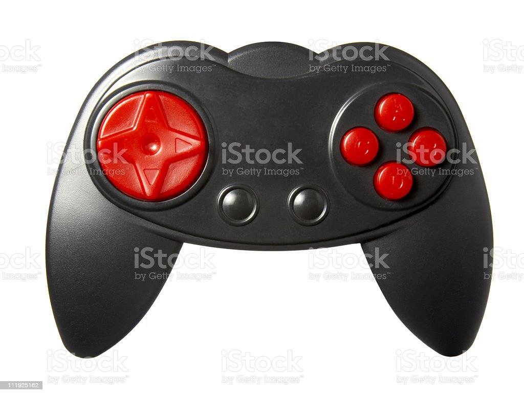 computer contoller gaming console stock photo
