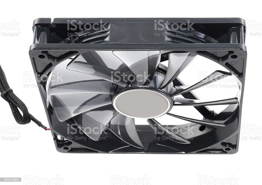 Computer cooler. Isolated. royalty-free stock photo
