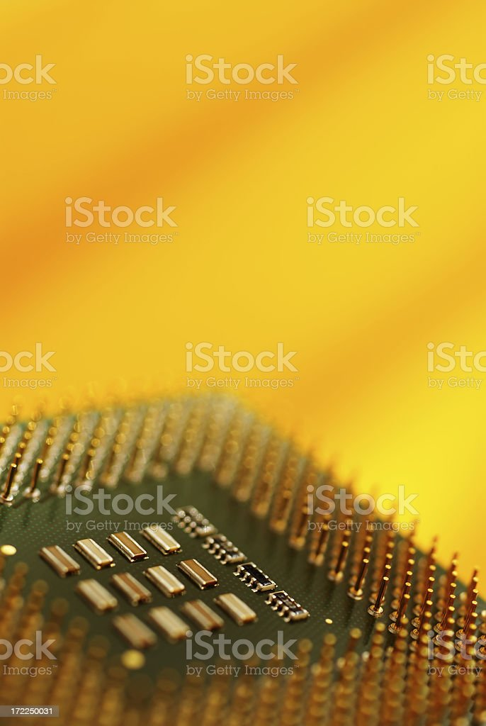 Computer CPU royalty-free stock photo