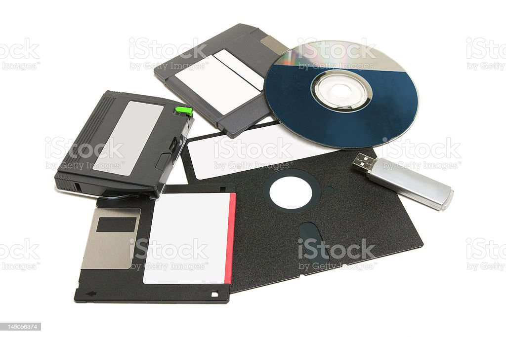 Computer Data Media royalty-free stock photo