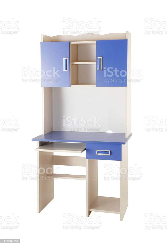 Computer Desk (Click for more) royalty-free stock photo