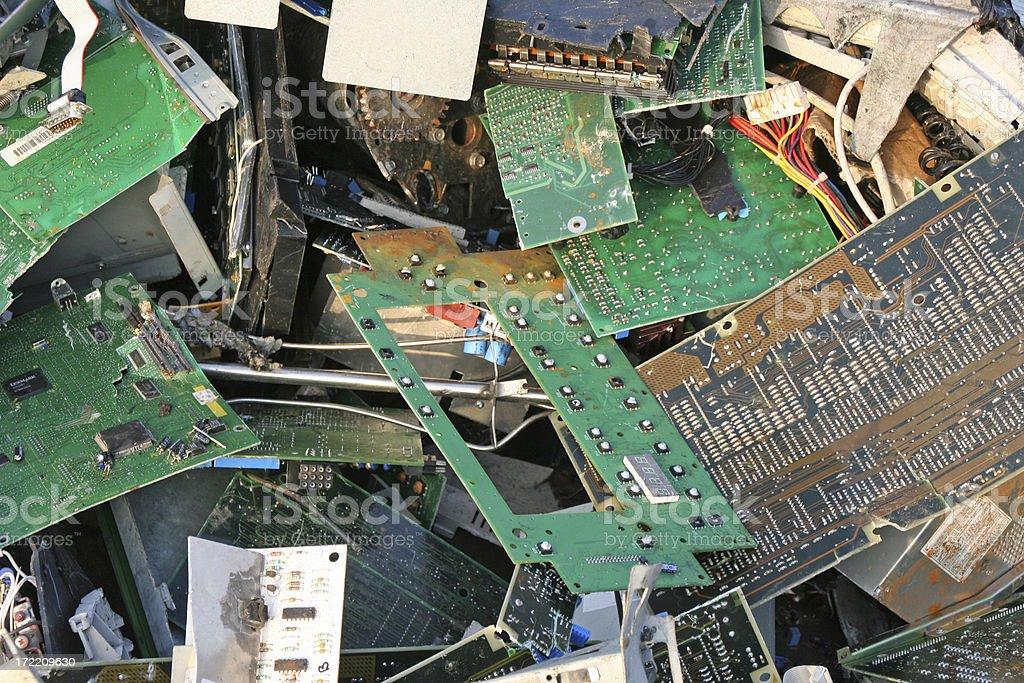 Computer dump # 8 stock photo
