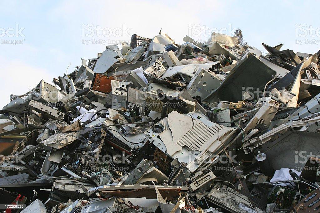 Computer dump # 3 stock photo