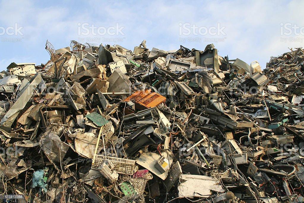 Computer dump # 1 stock photo