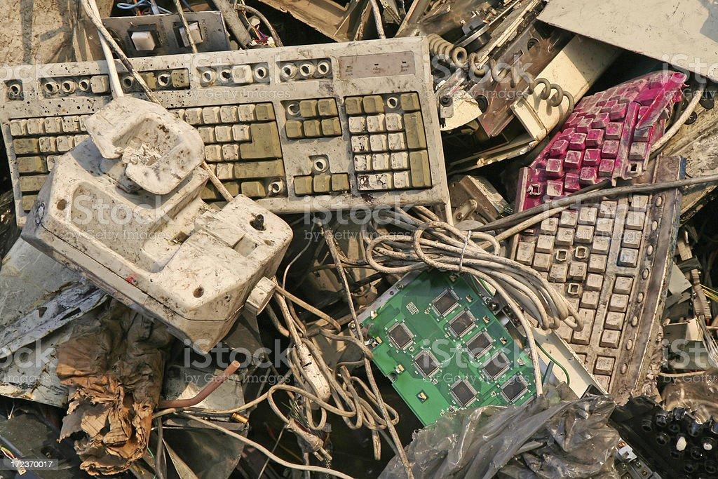 Computer dump # 16 stock photo