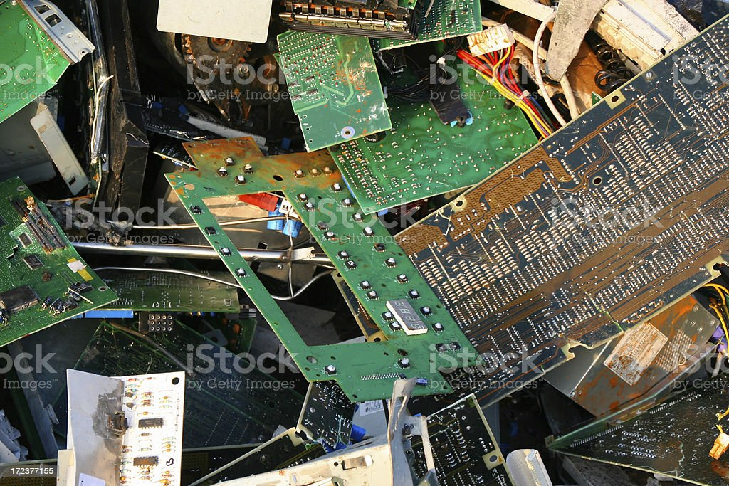 Computer dump # 15 royalty-free stock photo